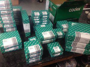 CODEX ležajevi, kuglični ležajevi